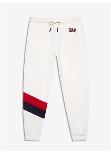 Gap Gap Logo Jogger Eşofman Altı Beyaz